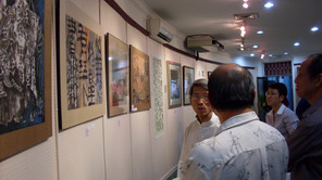 Exhibition Opening at Younie Gallery, Chin Woo Stadium.