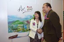Art Asia 2015 at Chin Woo Stadium Kuala Lumpur.