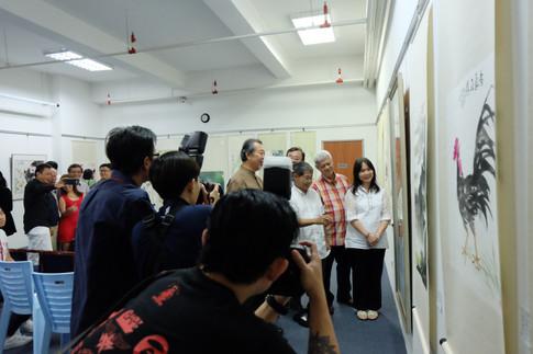 Exhibition at Younie Gallery, Scott Garden.
