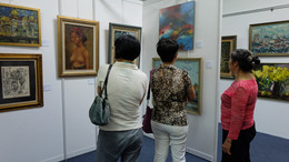 Auction Preview by Younie's Auction at Younie Gallery. (Photo Credits: Hua Bao Art & Collection)