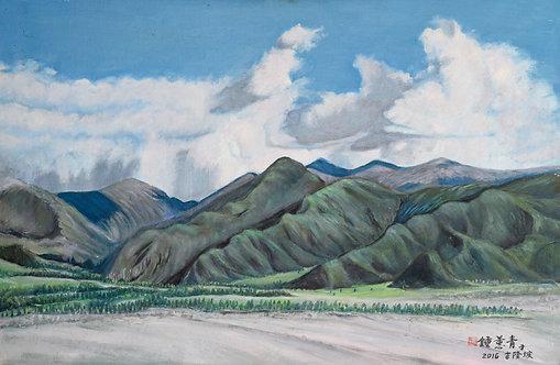 TIBETAN LANDSCAPE (2016) by Chung Hwee Chang