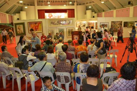 Artist Art Fair Malaysia 2014 at Chin Woo Stadium Kuala Lumpur.