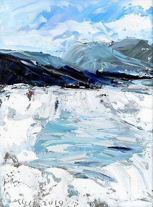 SNOWY MOUNTAIN (2019) by Koh Teng Huat