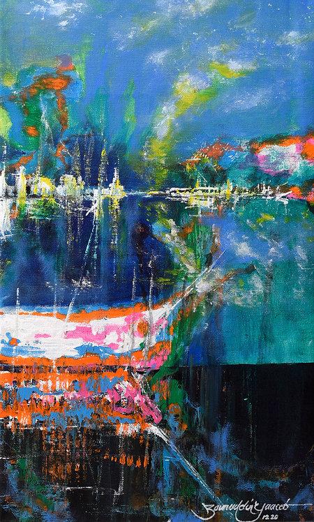 PULANG (RETURN) (2020) by Zainuddin Yaacob