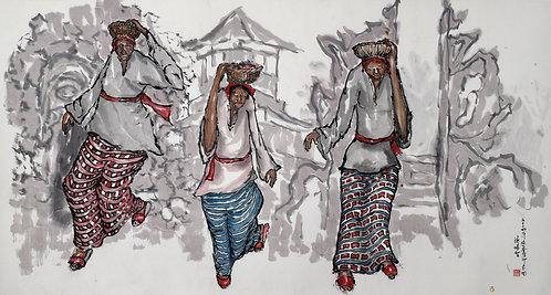 BALI IMPRESSION游峇厘印象图 (2014) by Tan Puay Tee 陈培智