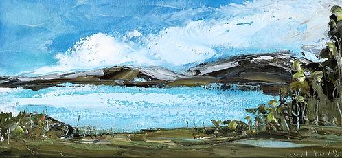 LAKE LANDSCAPE (2019) by Koh Teng Huat 古天发