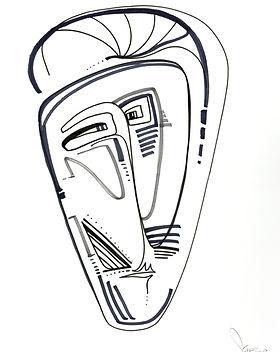 SIMONE FOO - Indigenous I, 2018 - 82 cm