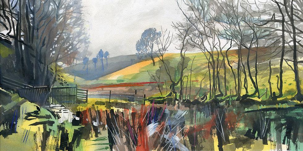 Chetsford Water, Exmoor Print