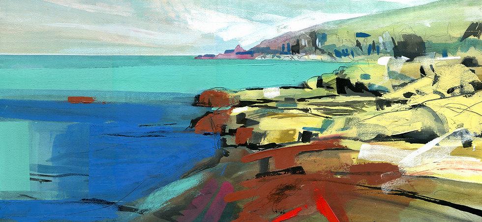 Cornish Coast, Original Painting