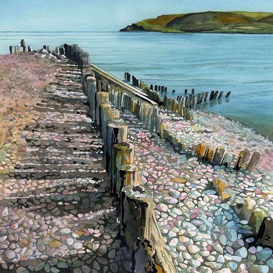 Porlock Weir 2, Exmoor Print