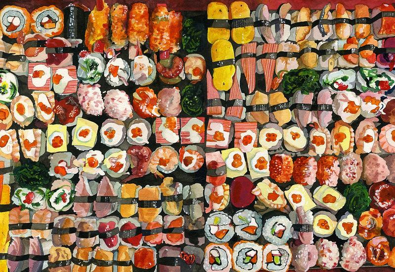 Sushi - Print