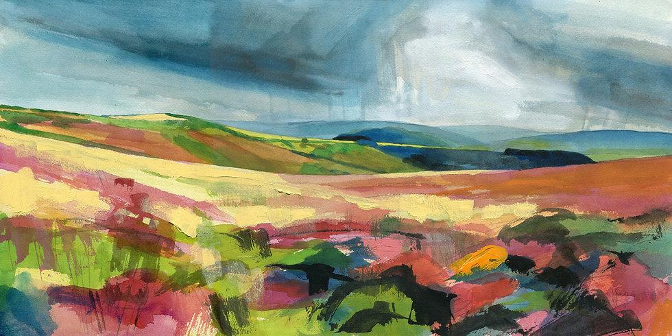Storm Over Exmoor, Exmoor Print