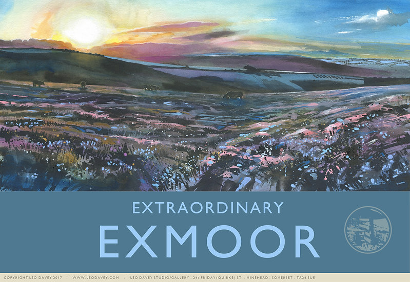 Extraordinary Exmoor, Exmoor Print