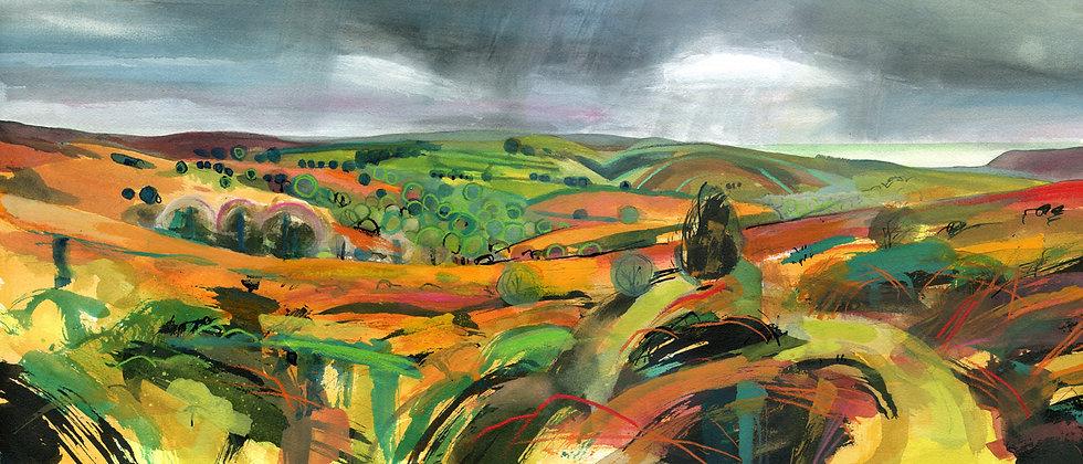 Webbers Post - Exmoor Print