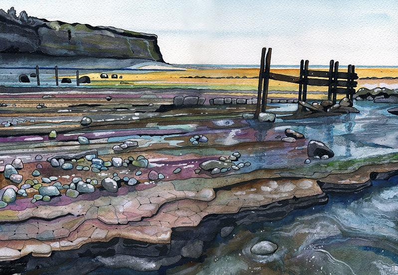 St. Audries Bay 2, Somerset Print