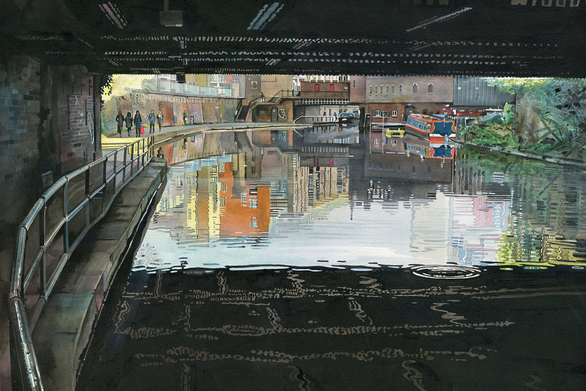 Drip....... Regents Canal, London, Limited Edition Print