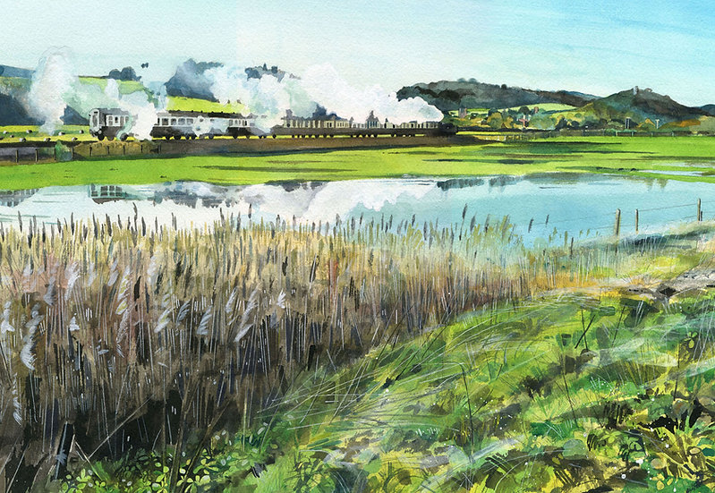 West Somerset Railway 4, Somerset Print