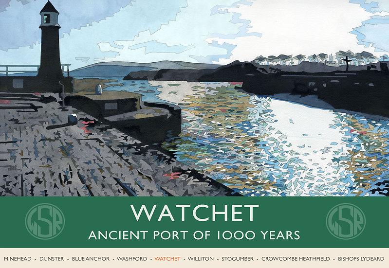 Watchet (WSR) Somerset Print
