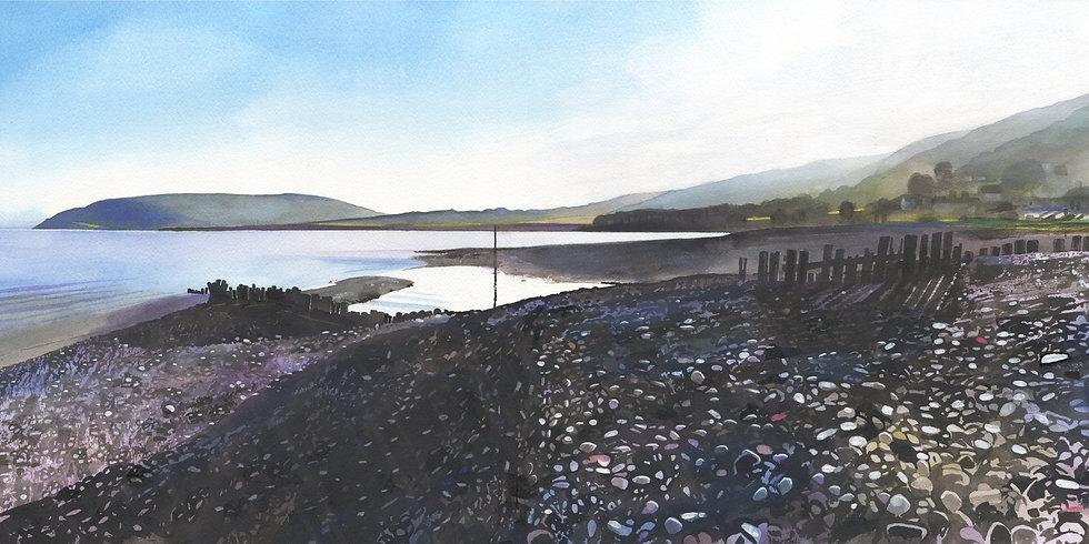 Porlock Weir, Exmoor  Print