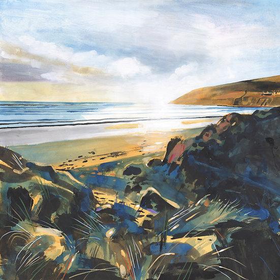 Saunton Sands , Devon, Print