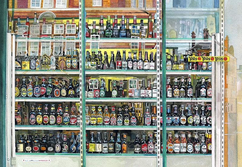 SLIP, SLIP,SLIP - Beers of the World - Print