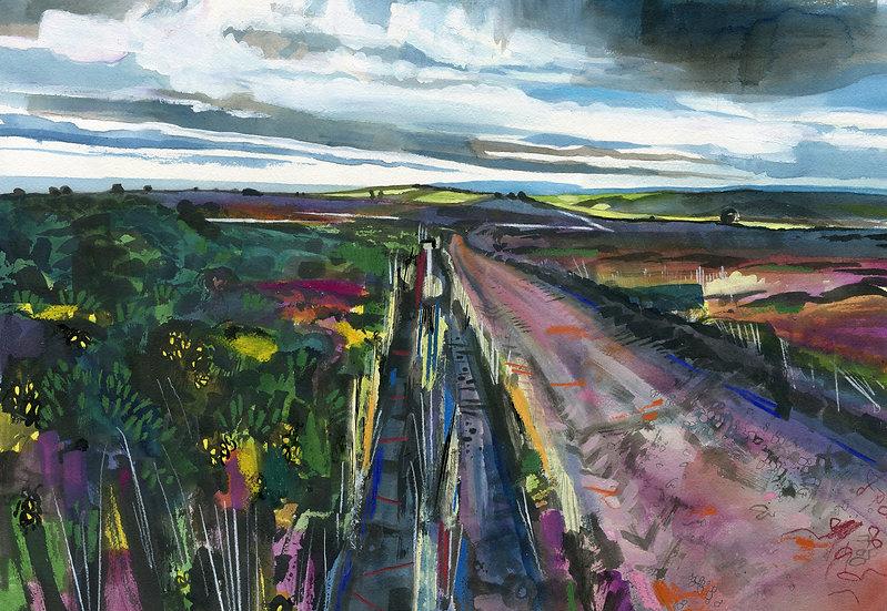 Exmoor Track, Exmoor Print