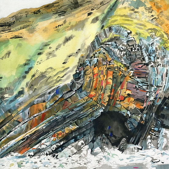Rock Formations 3, Print