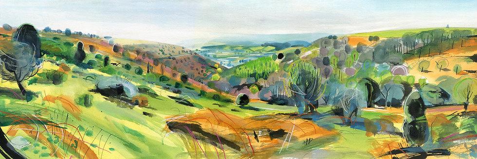 Woodcombe 2, Minehead, Exmoor Print