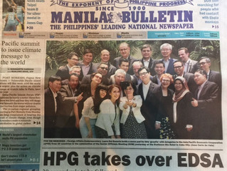 PAX President on Front Page News