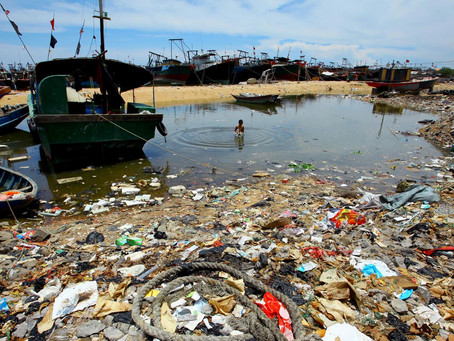 Let's Stop Consuming Plastic and Help Our Rivers to Become Healthier.