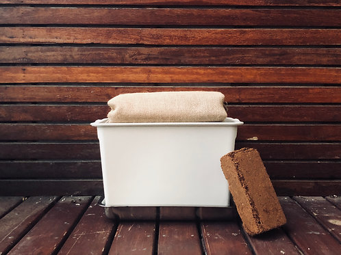 {Grey} Compost Bin