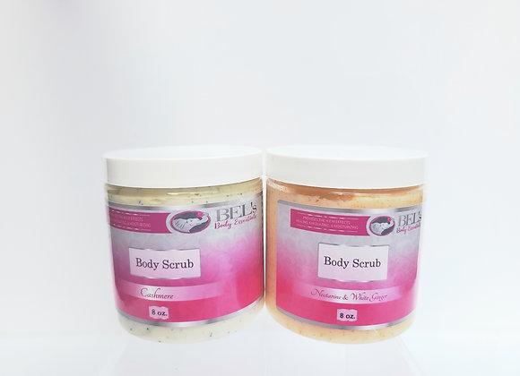 Two 8 oz Creamy Body Scrubs