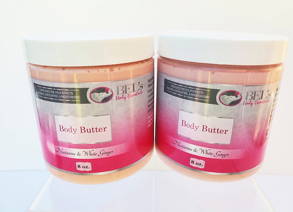 Two 8 oz Body Butters
