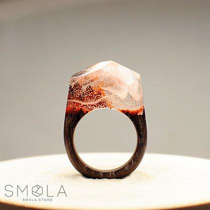 Кольцо Burning Element (Модель Crystal)