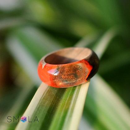 Кольцо Orange (модель Simple)