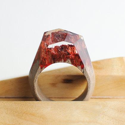 Кольцо Fire (модель Crystal)
