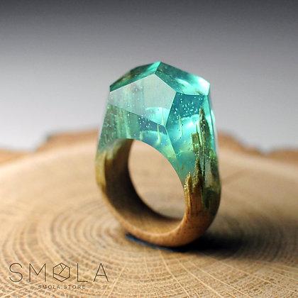 Кольцо Azure (Модель Crystal)