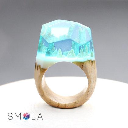 Кольцо Ice Crust (модель Crystal)