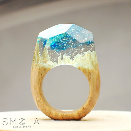 Кольцо Fresh Air (Модель Crystal)