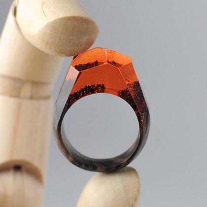 Кольцо Orange (модель Crystal)