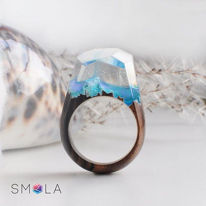 Кольцо Cottony (модель Crystal)