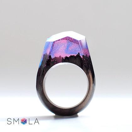Кольцо Galaxy (модель Crystal)