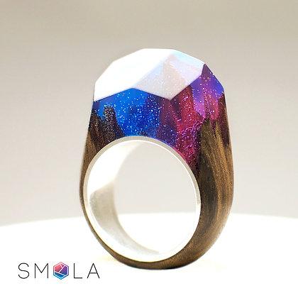 Кольцо Galaxy (модель Crystal Silver)