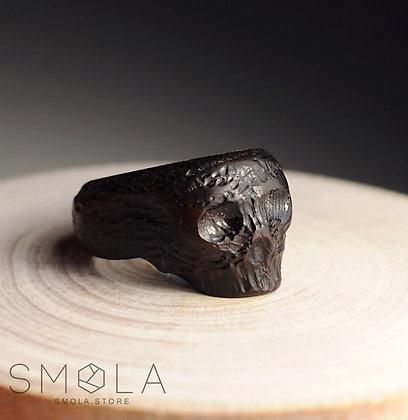 Кольцо Wooden Skull (Модель Simple)