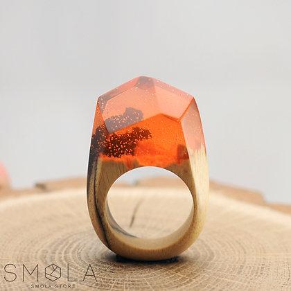 Кольцо Mandarine (Модель Crystal)