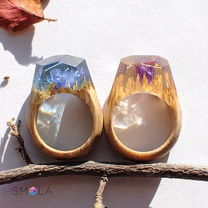 Кольцо Floret (Модель Crystal)