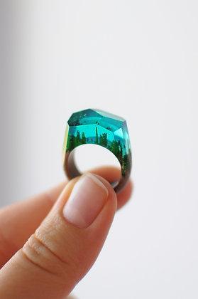 Кольцо Emerald (модель Crystal)