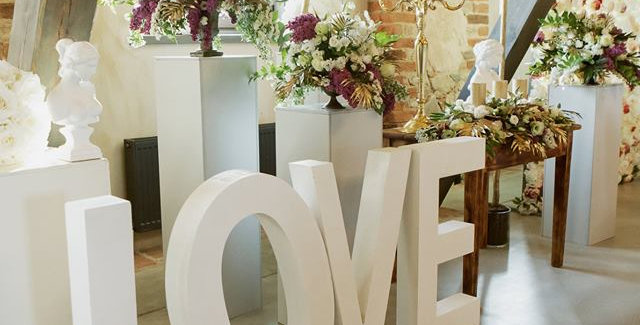 """Letters """"LOVE"""""""