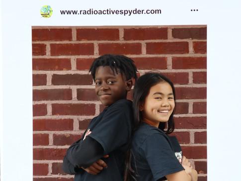 Akin Mponjika and Serena Wang