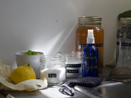 4 façons d'utiliser le vinaigre blanc (partie 1)
